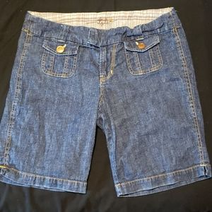 "Bermuda Jean Shorts 9"", Tyte,  Sz 11"